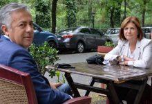 Alfredo Cornejo junto a Patricia Bullrich