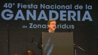 Rodolfo Suarez en la Fiesta de la Ganadería
